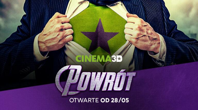 Cinema3D przywita widzów bogatym repertuarem filmowym