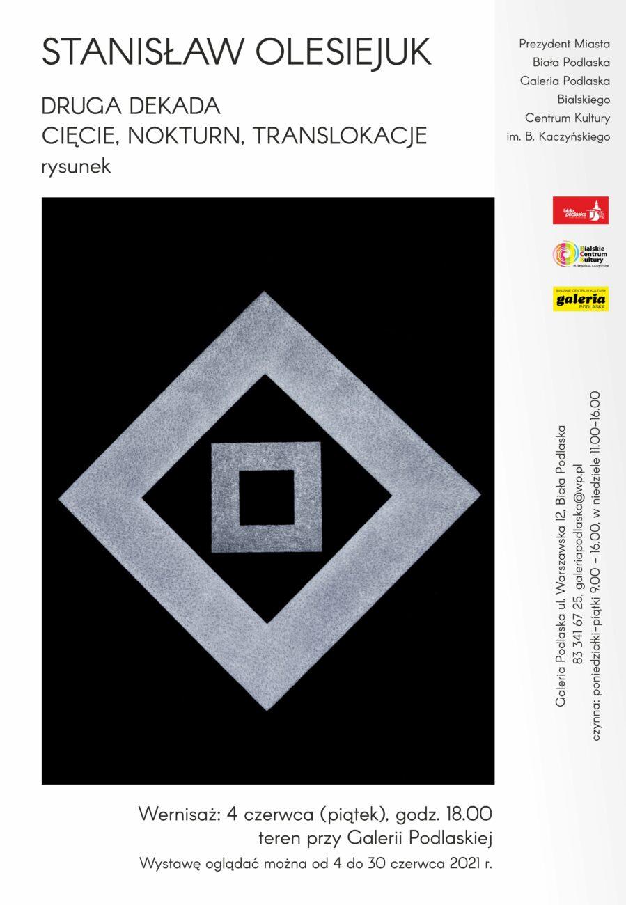 Wernisaż wystawy Stanisława Olesiejuka już 4 czerwca