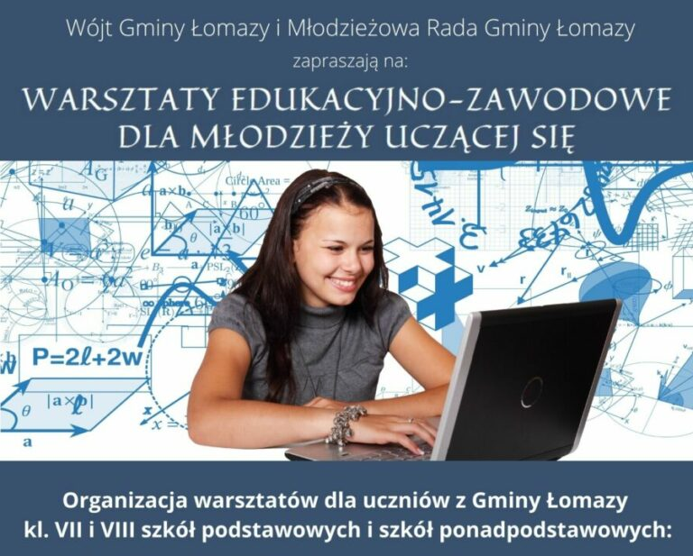 Warsztaty edukacyjno-zawodowe dla młodzieży