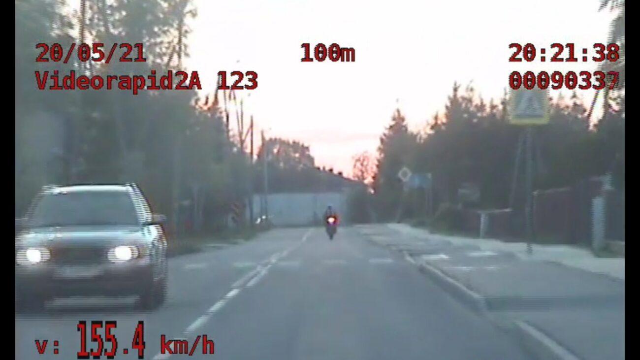 Przekroczył prędkość o 105km/h