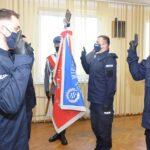 Nowi policjanci w bialskiej komendzie