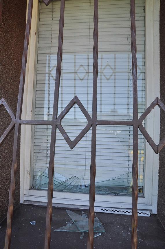 Wybił okno i groził pozbawieniem życia znajomej