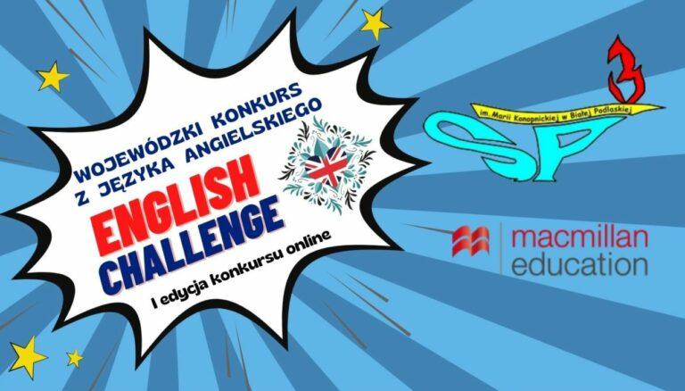 Startuje konkurs z j. angielskiego!