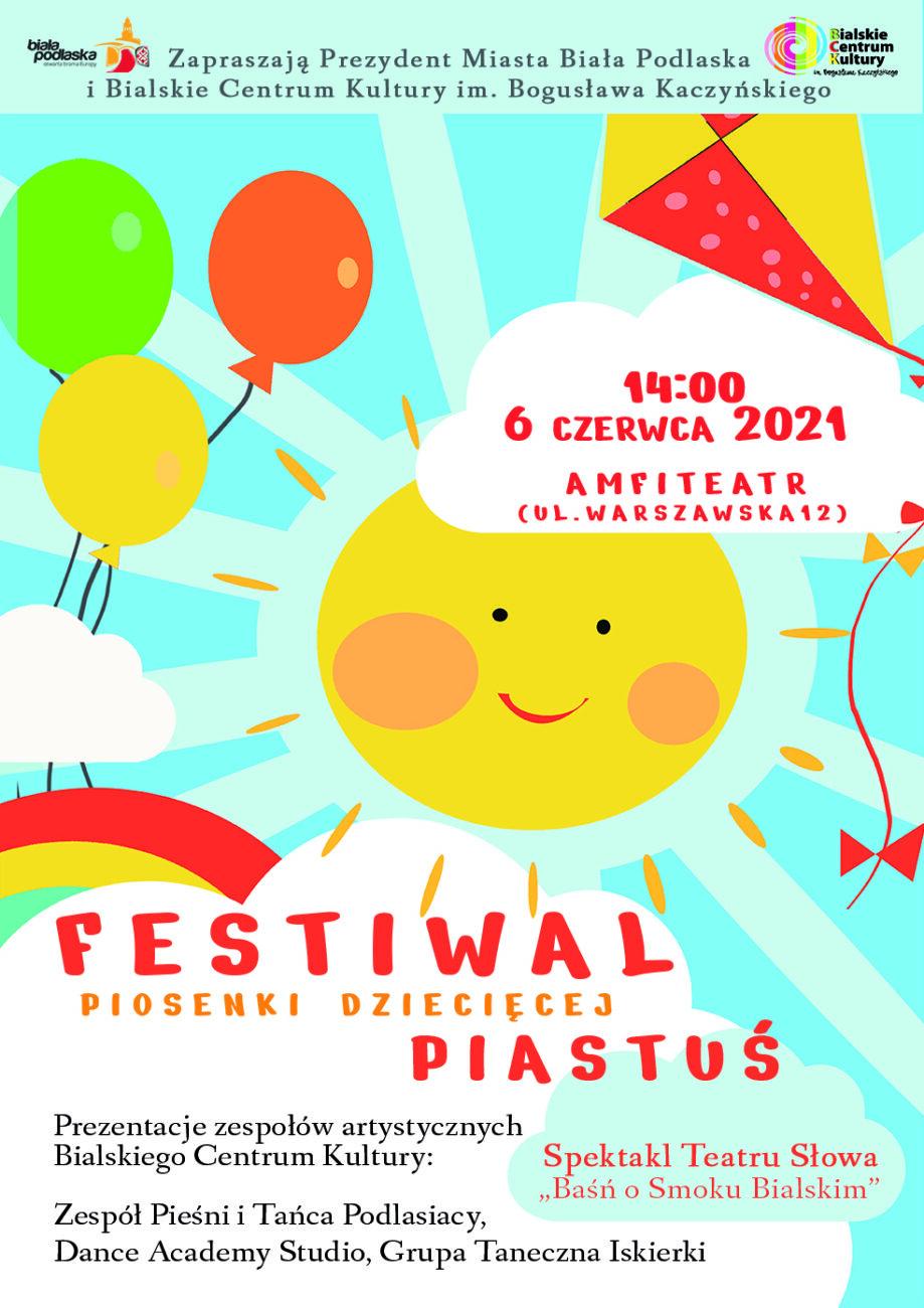 W niedzielę Festiwal Piosenki Dziecięcej Piastuś
