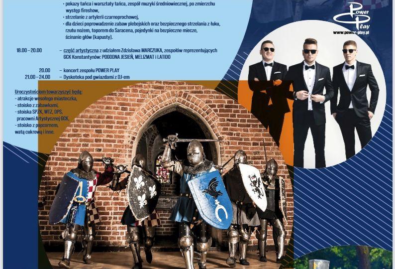 Obóz rycerski i disco polo w Konstantynowie