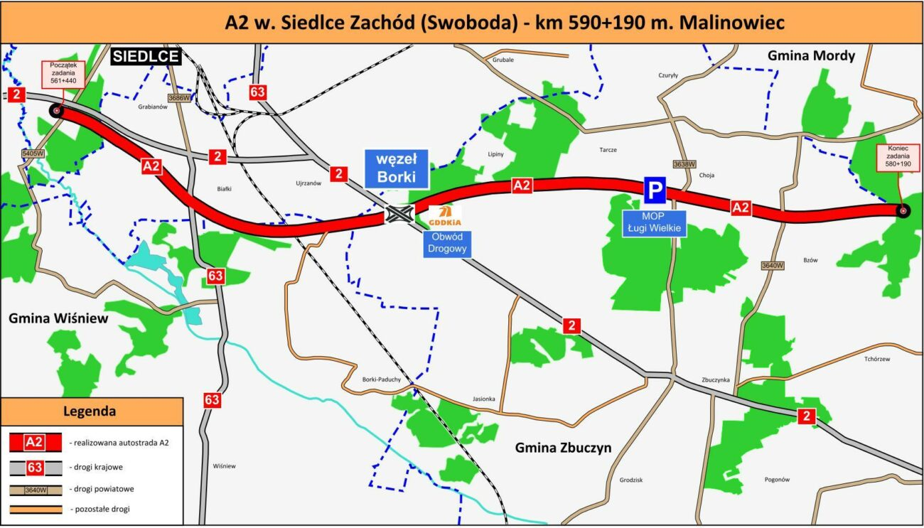 Kiedy autostrada do Białej Podlaskiej?