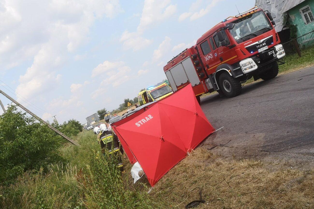 Pasażerka nie żyje, pięć osób rannych