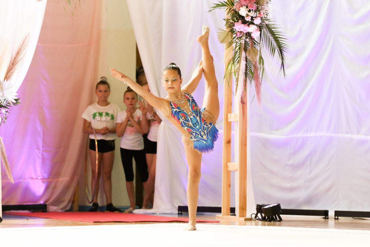 Gimnastyka artystyczna na wysokim poziomie