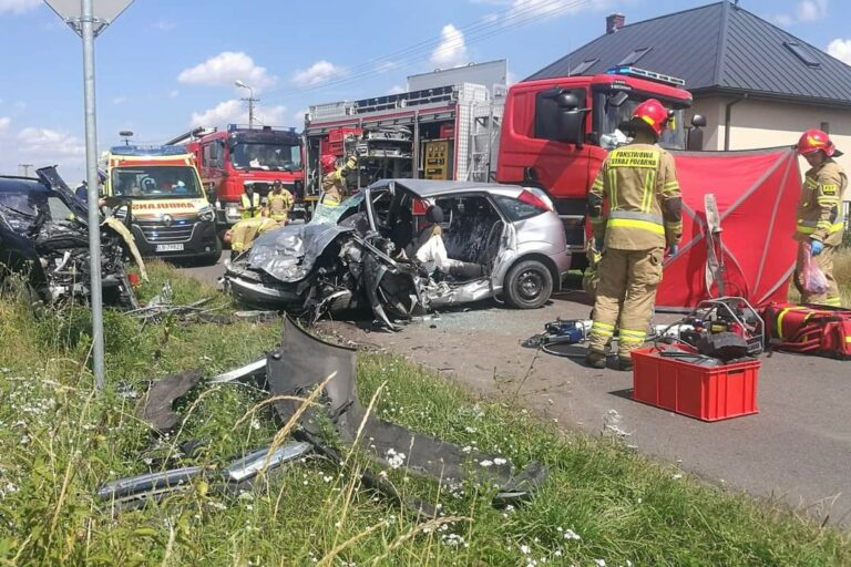 Kamera zarejestrowała tragiczny wypadek w Ortelu [Video]