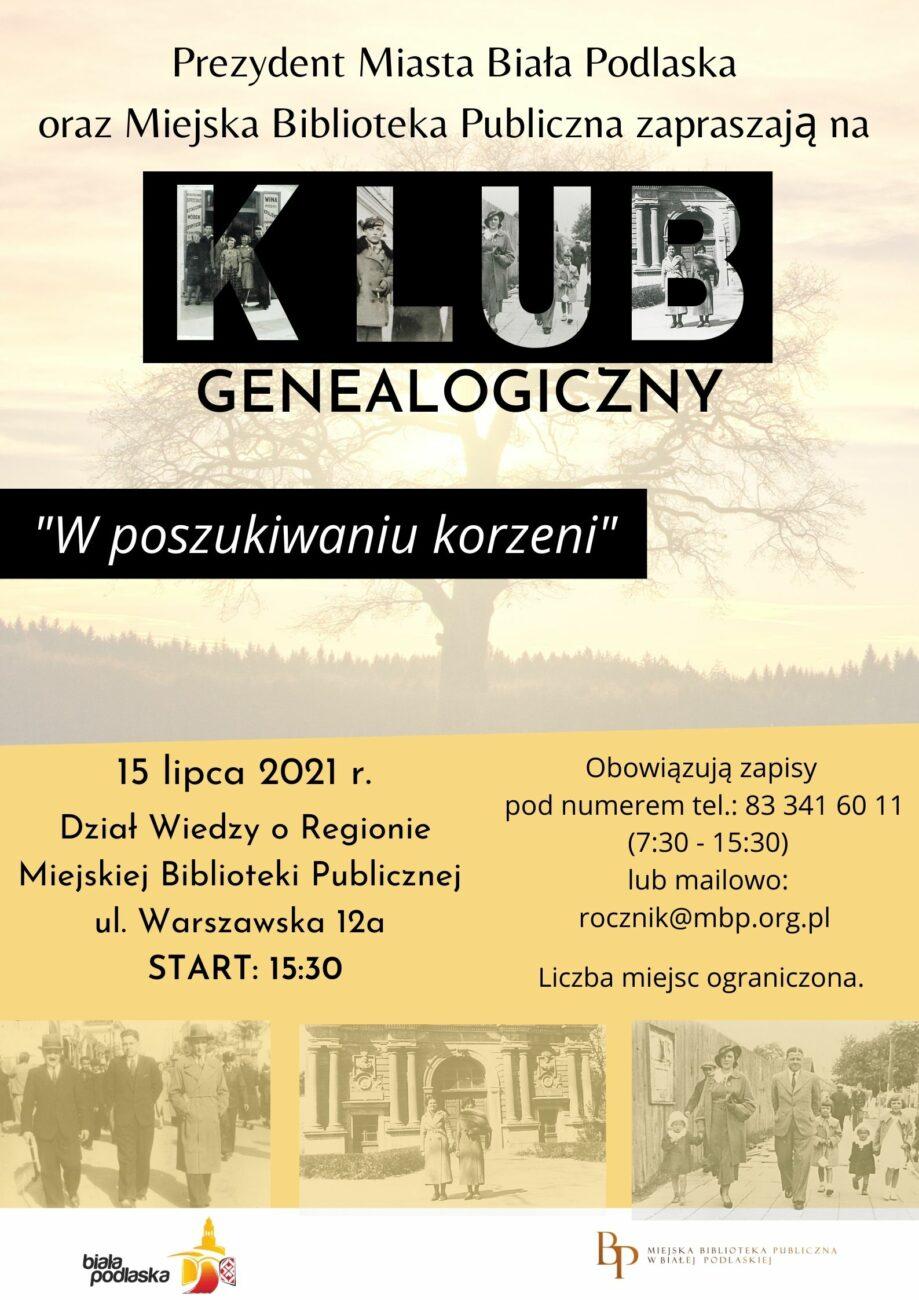 Spotkanie Klubu Genealogicznego