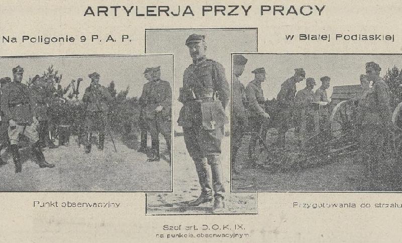 Dzieje 9 pułku artylerii lekkiej w latach 1919-1939 (cz. 10)