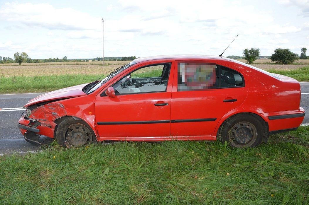 Wypadek w Ciciborze. 25-latka trafiła do szpitala