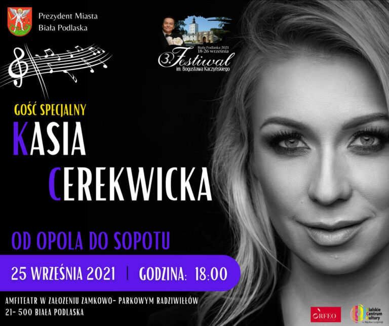 Kasia Cerekwicka wystąpi w Białej