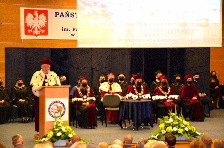 Inauguracja roku akademickiego i oficjalne otwarcie nowego akademika PSW